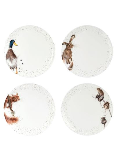 Wrendale Designs Coupe Plates 10.5'' Set of 4