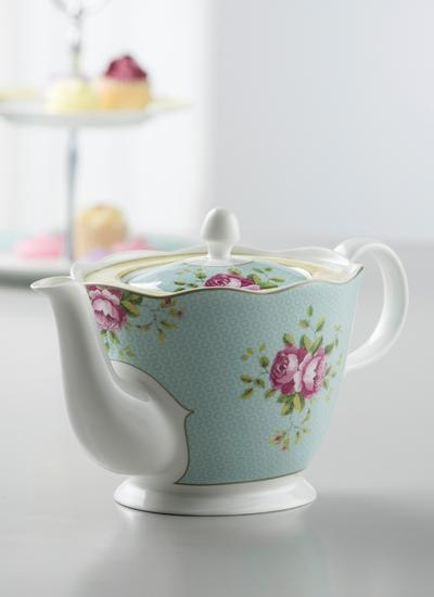 Archive Rose Teapot