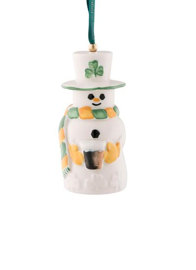 Paddy Snowman Bell Decoration