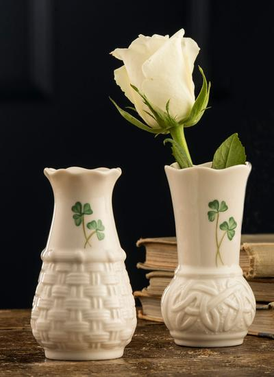 Belleek Durrow 4'' Vase
