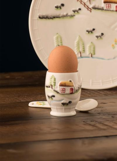 Connemara Egg Cup & Spoon