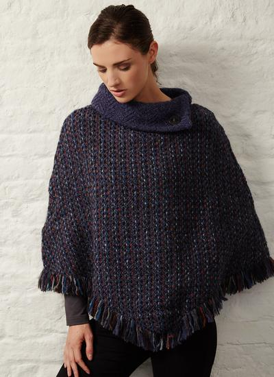 Woven Wool Amy Cape