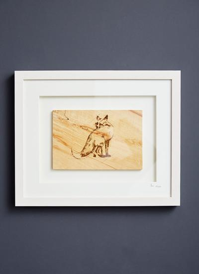 The Native Collection Framed Fox