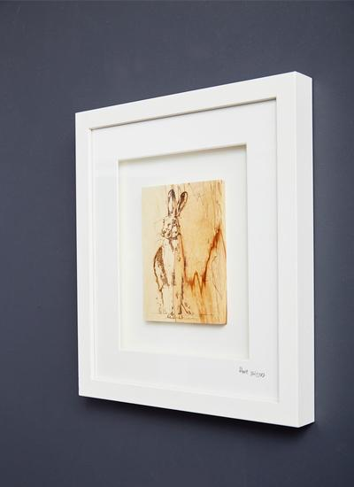 The Native Collection Framed Hare