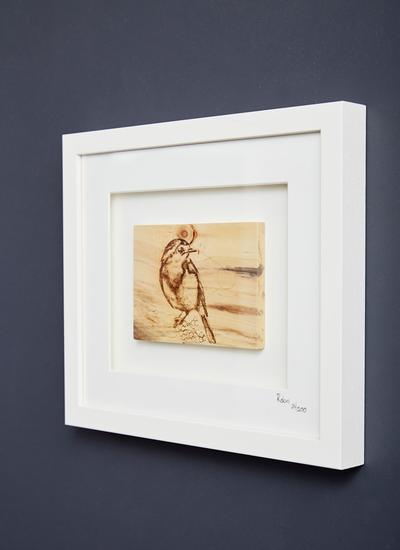 The Native Collection Framed Robin