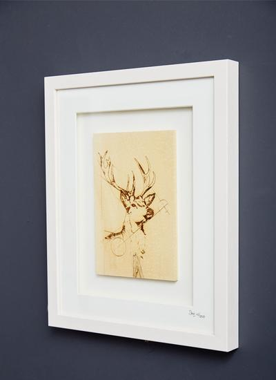 The Native Collection Framed Stag