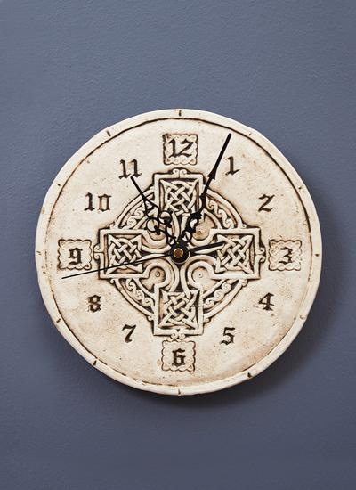 Stonewash High Cross Clock