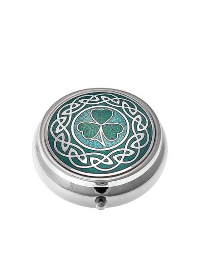 Celtic Shamrock Small Pillbox