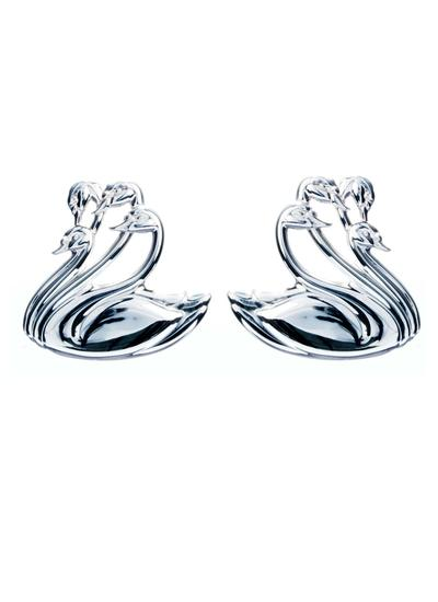 Sterling Silver Children of Lir Stud Earrings