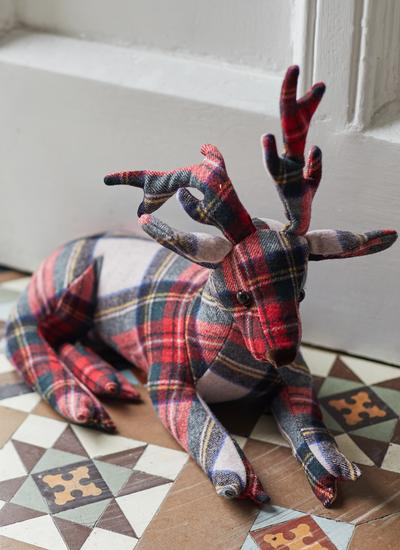 Noel the Stag Doorstopper