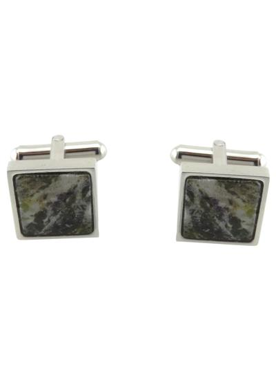 Connemara Marble Square Cufflinks