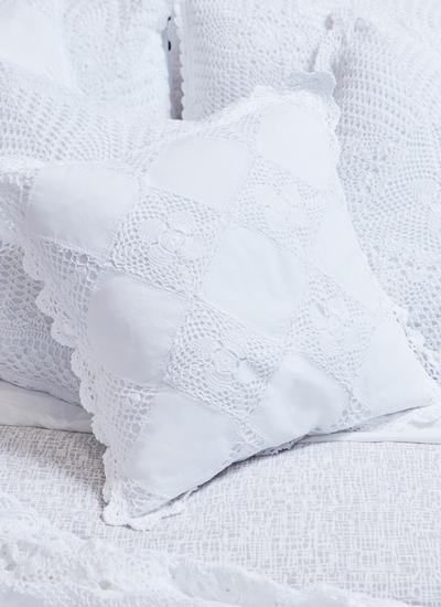 Diamond Crochet Cushion Cover Set of 2