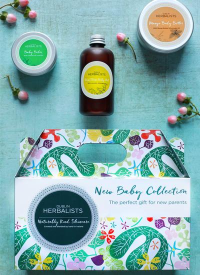 Dublin Herbalists New Baby Gift Set