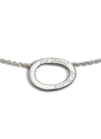 Sterling Silver Your Life Pendant