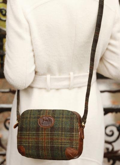 Erin Tweed Shoulder Bag