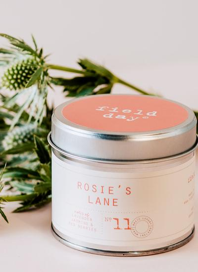 Rosie's Lane Tin Candle