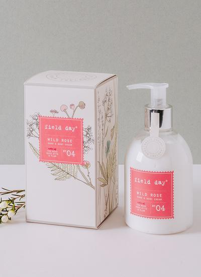 Wild Rose Hand & Body Cream