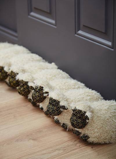 Flock Of Sheep Draft Excluder