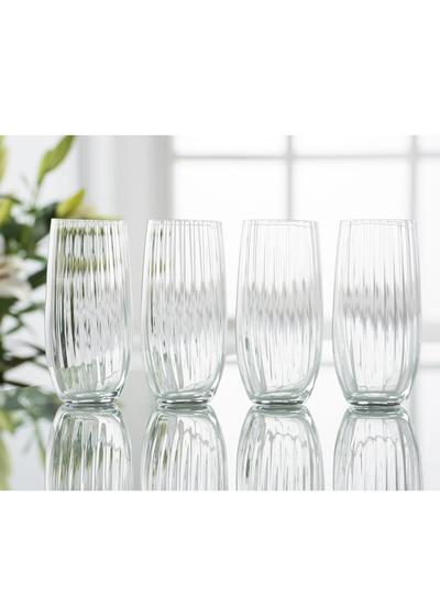Galway Crystal Erne Hi Ball Set of 4