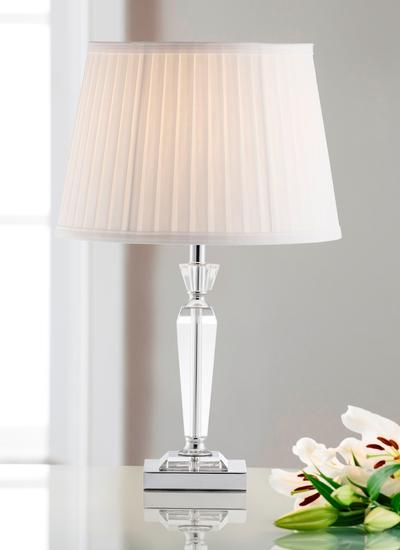 Galway Crystal Vienna Lamp & Shade