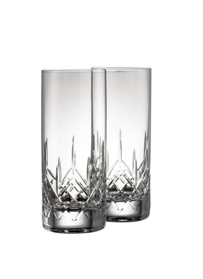 Galway Crystal Longford Hi Ball Pair