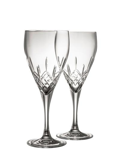 Galway Crystal Longford Red Wine Pair