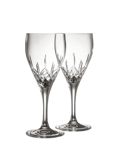Galway Crystal Longford White Wine Pair
