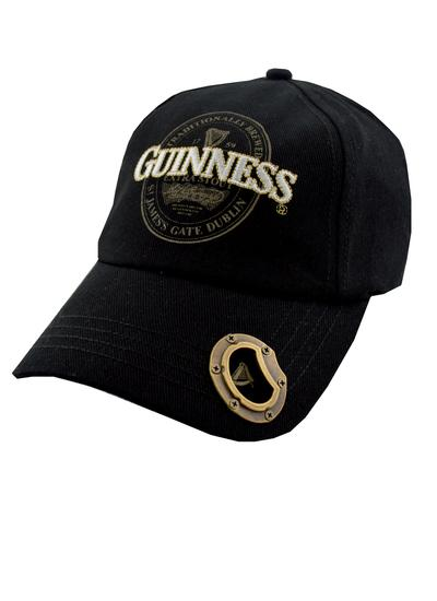 Guinness Extra Stout Bottle Opener Baseball Cap