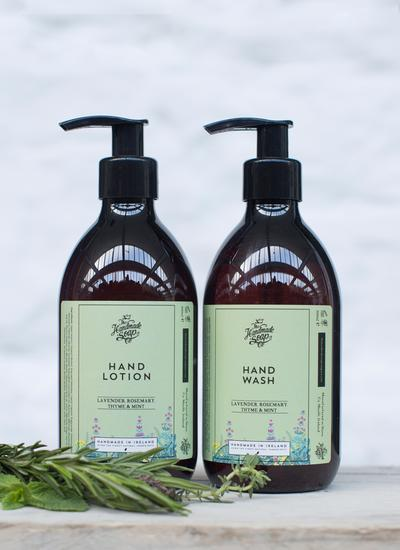 Lavender, Rosemary, Thyme and Mint Hand Lotion