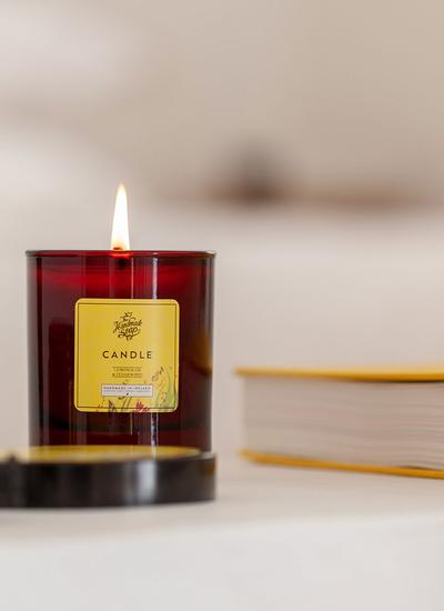 Lemongrass & Cedarwood Candle