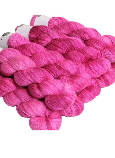 Hand-Dyed Sock Yarn Cotton Candy