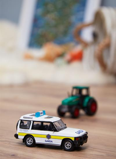 Irish Garda 4x4 Jeep Model