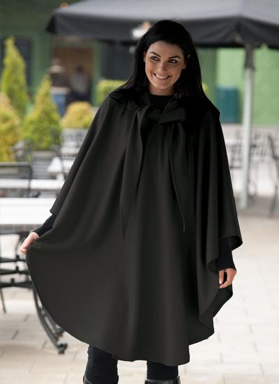 Wool Cashmere Travel Cape