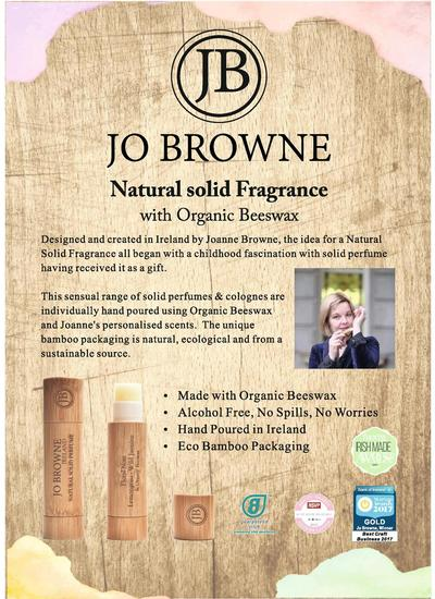 Jo Browne Solid Perfume - Floral Note