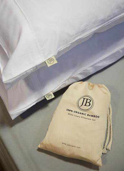 Jo Browne Luxury Bamboo Pillowcase Set of 2