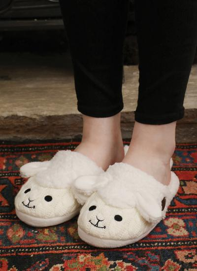 Kids Sheep Slippers