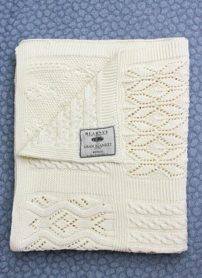 Lace Patchwork Throw