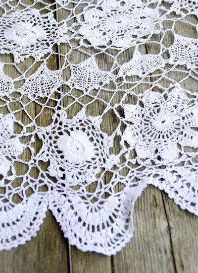 Lace Round Tablecloth