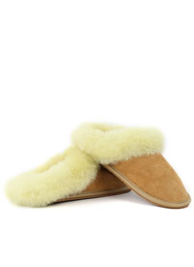 Ladies Sheepskin Mule Slippers