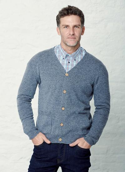 Lambswool V-Neck Cardigan
