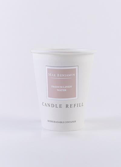 French Linen Water Luxury Natural Candle Refill