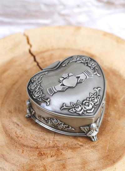 Claddagh & Rose Jewelry Box