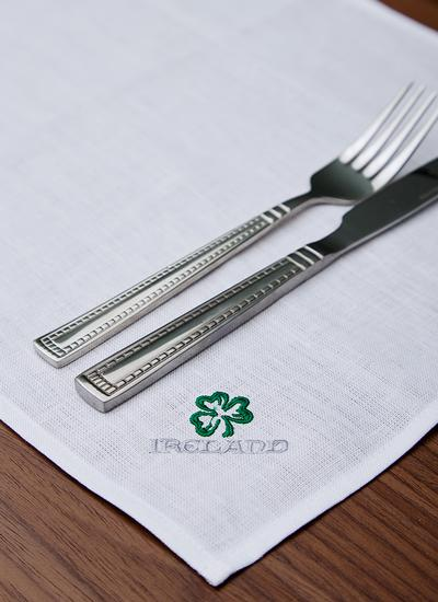 Blarney Irish Linen Embroidered Placemats