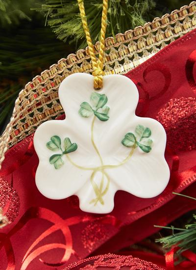 Shamrock Shaped Decoration
