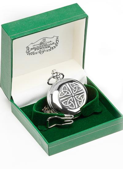 Celtic Trinity Pocket Watch