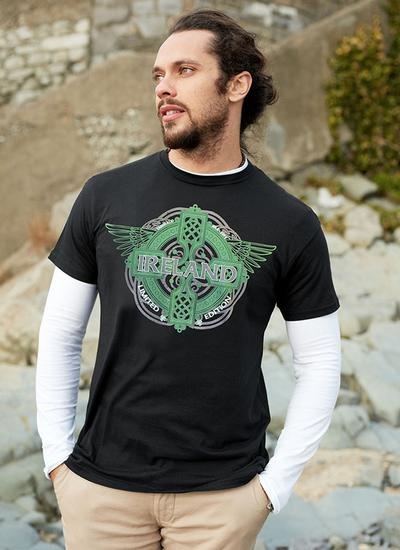 Men's Ireland Celtic Wings T-Shirt