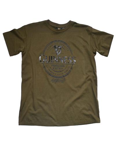 Men's Khaki Guinness T-Shirt