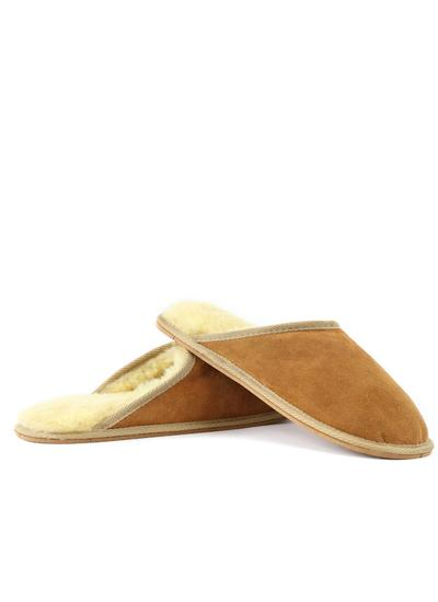 Men's Sheepskin Mule Slippers