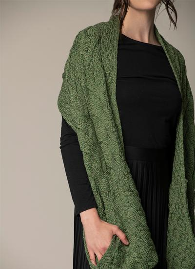 Supersoft Merino Wool Pocket Scarf