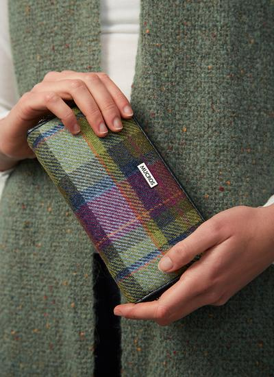 Mucros Tweed Wallet